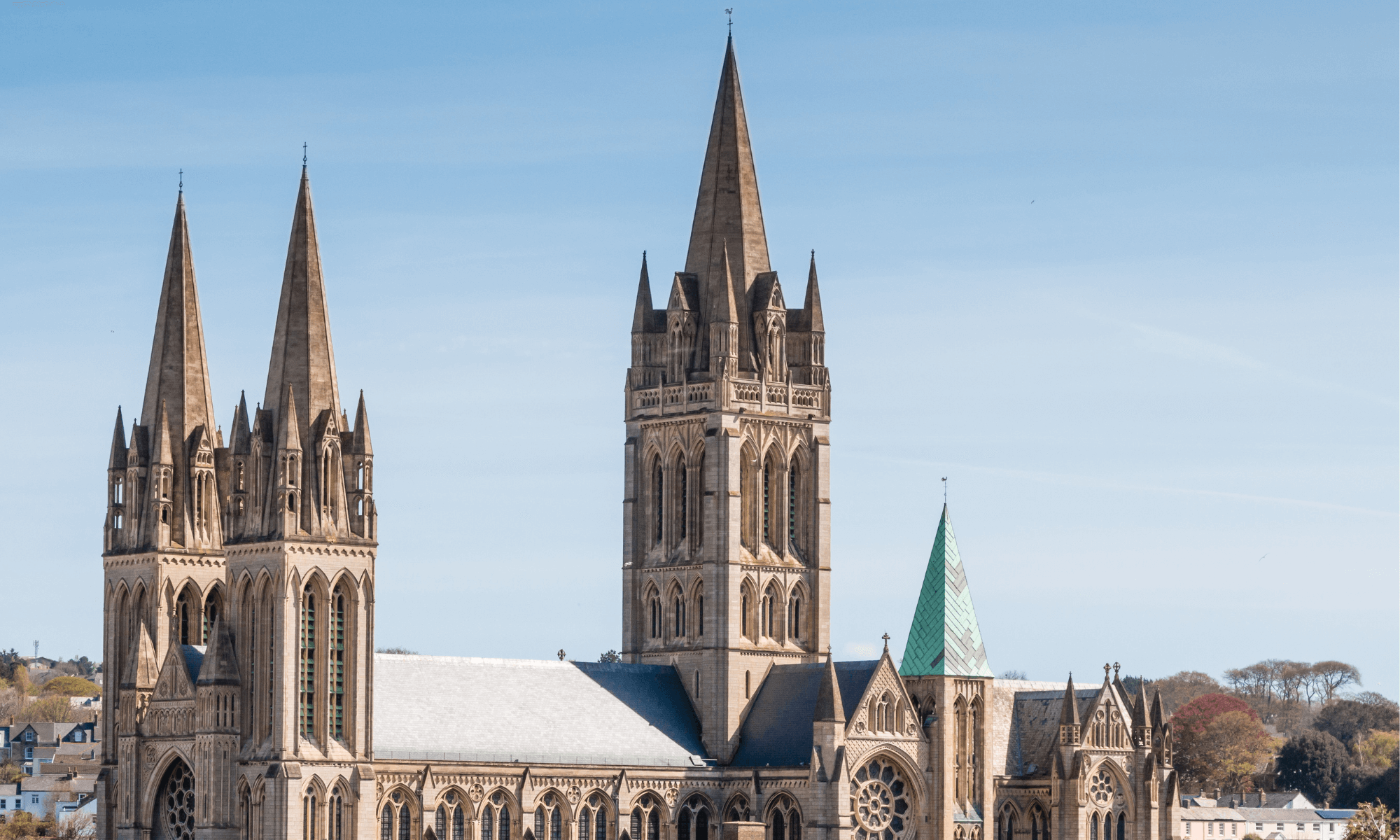 Photo of Truro in Cornwall UK